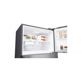 Gross 471(L) Net 438(L) Top Freezer Refrigerator, Platinum Silver   LINEAR Cooling™   Hygiene Fresh+   Smart ThinQ™