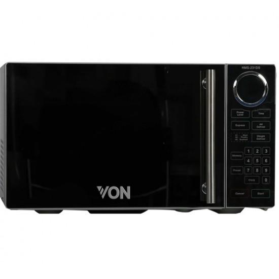 Von Microwave Solo 23L Mirror VAMS-23DGS