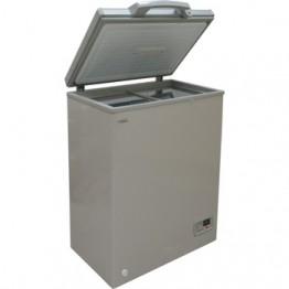 Mika Deep Freezer, 100L, Silver Grey