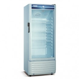 Mika Upright Showcase Chiller, 130L