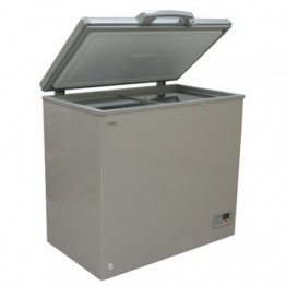 Mika Deep Freezer, 250L, Silver Grey