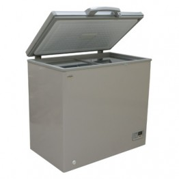 Mika Deep Freezer, 300L, Silver Grey