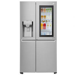 LG fridge Gross 668L Net 601L Side by Side
