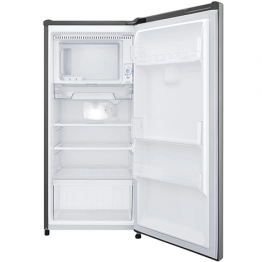 Gross 169(L) Net 164(L) One Door Refrigerator, Platinum Silver   Smart Inverter Compressor  Large Capacity Freezer   Big Vegetable Box