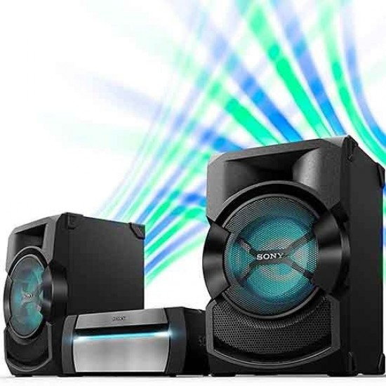 Sony HIGH POWER AUDIO SYSTEM, DVD, BLUETOOTH, SHAKE X10