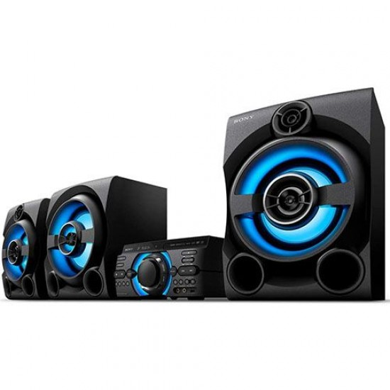 Sony High Power AudioSystem With DVD,Bluetooth MHC-M80D