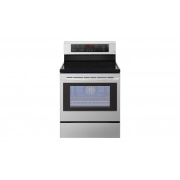 LG 6.3 Cu ft 5 Hobs Ceramic Free standing Electric Oven