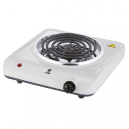 Mika Hot Plate, Single, 1500W, White