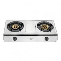Mika Gas Stove, Table Top, Stainless steel, 2 Burner