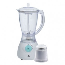 Mika Blender, 1.7L, 550W, With Grinder, White & Green