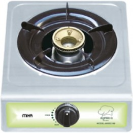 Mika Gas Stove, Table Top, Stainless steel, 1 Burner