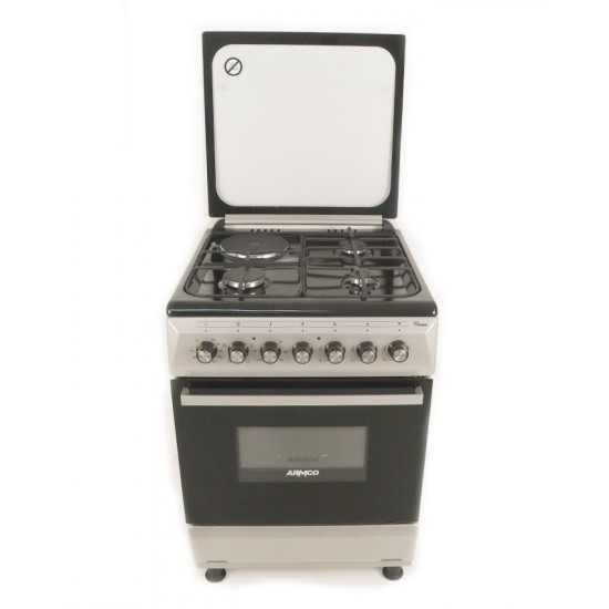 Armco 3 Gas 1 Electric Gas Cooker GC-F6631QX(SL)