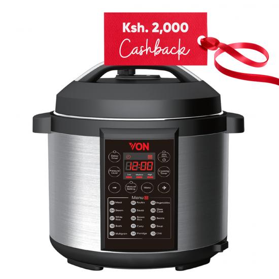Von 6L Pressure Cooker  VSCP60MDX