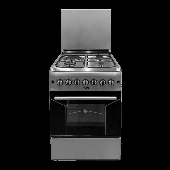 Von 3 Gas +1 Electric Cooker VAC6F031US