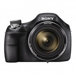 Sony DSCH400 Digital Compact Bridge Camera - Black