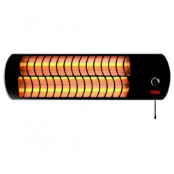 Von 1800W Quartz Wall Mountable Heater