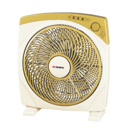 "12"" Elekta Box Fan with 5 Blades with Tropical Climate"