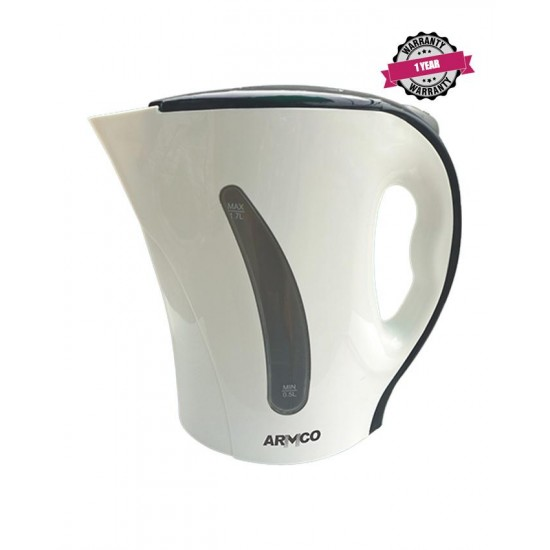 Armco Plastic Corded Kettle AKT-171CD(W)