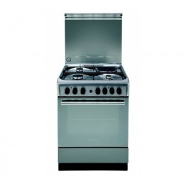 Ariston CX61SN1(X)(EX S)/A6MSH2F (X) 3 Gas & 1 Electric Cooker Stainless steel
