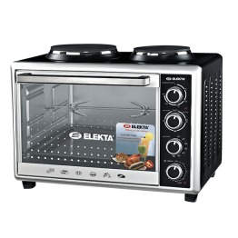 Elekta 43L Electric Oven with 2 Hot Plate and Rotisserie