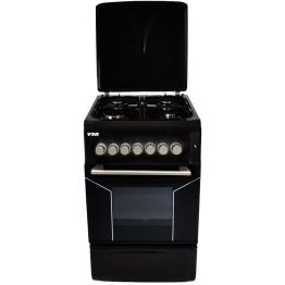 Von Hotpoint 4 Gas Cooker F5N40G2BLK