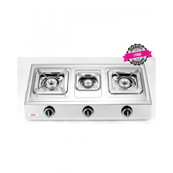 ARMCO 3 Burner Gas Cooker  GC-8315P2