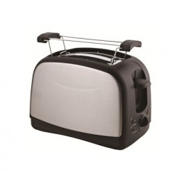 Von Hotpoint HT222DS Two Slice Toaster - Silver