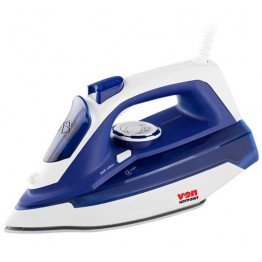 Von 2200W Steam Iron Ceramic Plate