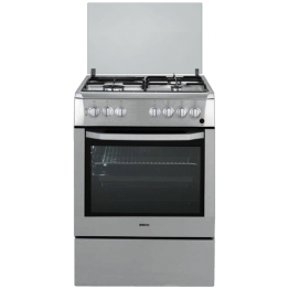 CSE 63111 DX - BEKO COOKER: STAINLESS STEEL INOX