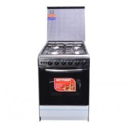 Von Hotpoint 4gas Cooker Inox