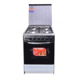 Von Hotpoint 4gas Cooker C5555EV Inox
