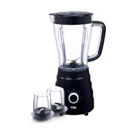 Von 500W 1.5L 3 in 1 Blender + Mill + Chopper