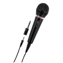 Sony Uni-Directional Vocal Microphone with Built-In On/Off Switch