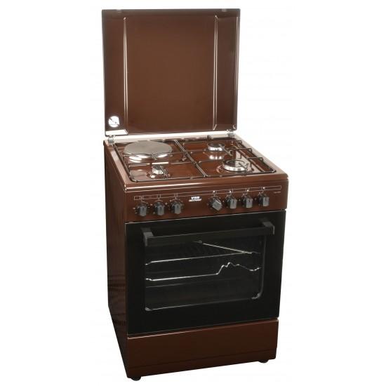 Von 3 Gas +1 Electric Cooker VAC6S031UB