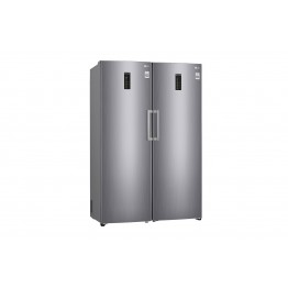 LG 313L Lansen upright Freezer Gross Capa