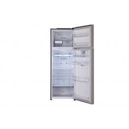 Gross 360(L) Net 327(L) Top Freezer Refrigerator, Platinum Silver   LINEARCooling™  DoorCooling+™